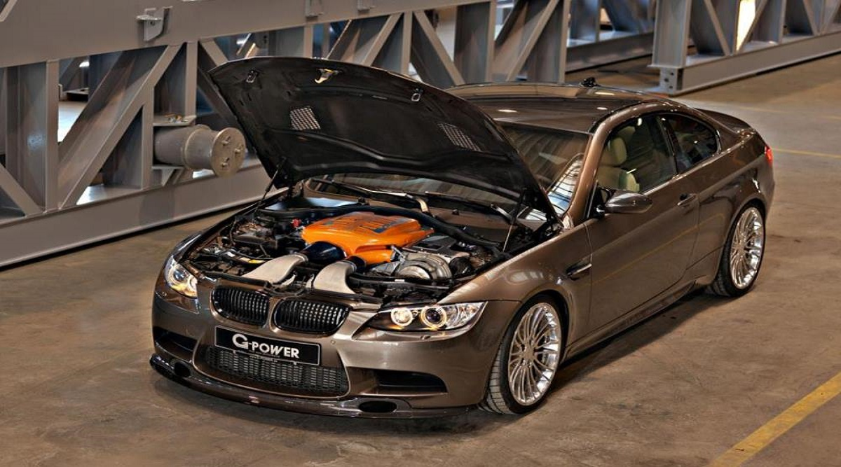 BMW G5 Hurricane RR - Тюнинг ателье Top Level motorsport