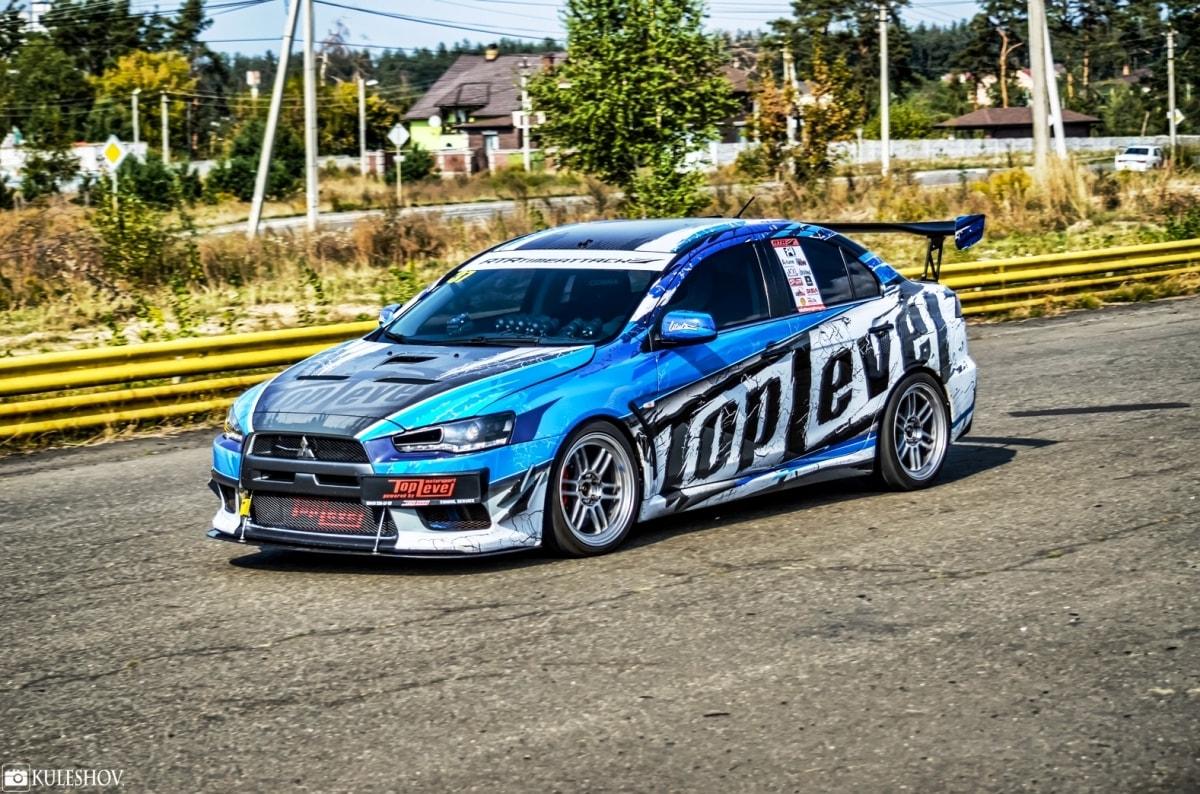 Mitsubishi EVO X Timeattack by Top Level motorsport
