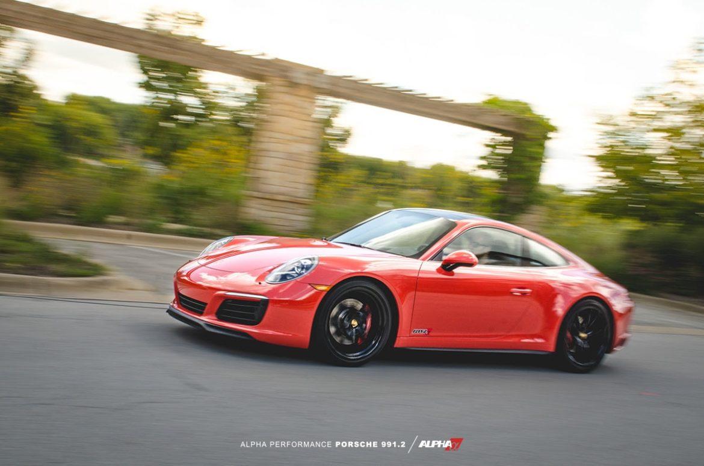 Интеркулер Alpha Performance Porsche 991.2