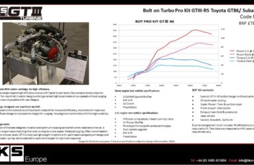 HKS GTIII-RS турбо кит для Toyota GT86