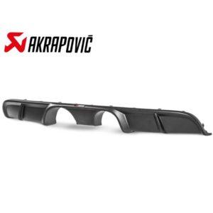 AKRAPOVIC DI-PO/CA/4/M Задний диффузор (Carbon / Matte) для Porsche 911 Turbo / Turbo S (991.2) 2016 -