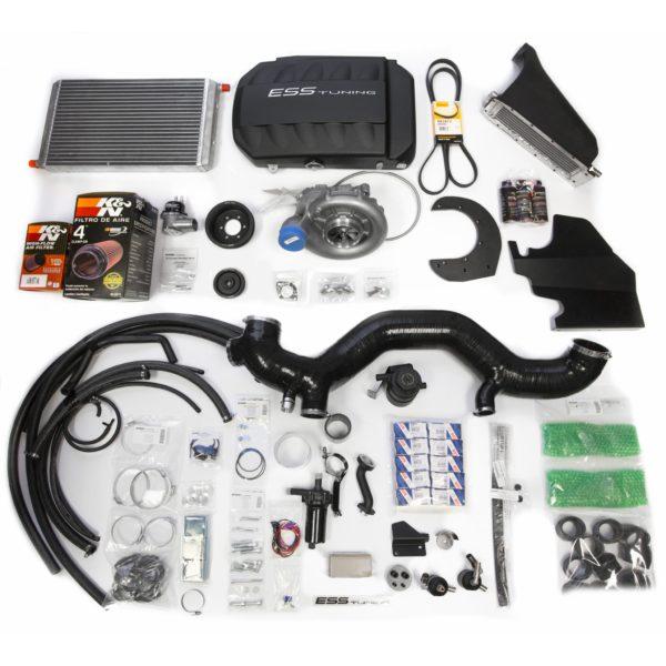 BMW M5 E60 Компрессорная система ESS 660л.с. с интеркулером