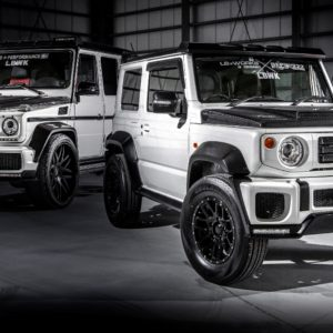 Обвес Liberty Walk Suzuki Jimny LB-WORKS
