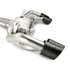 AKRAPOVIC L-PO/SS/2H Link Pipe Set w Cat (SS) для Porsche 911 Turbo / Turbo S (991.2) 2016 -