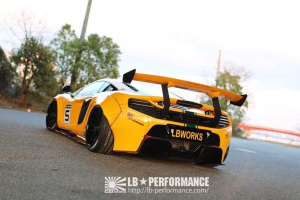 Обвес Liberty Walk McLaren 650S LB-WORKS