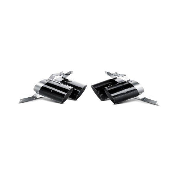 AKRAPOVIC TP-CT/8 Tail pipe set (Carbon) 570 Lamborghini Gallardo LP570-4 Coupé/Spyder