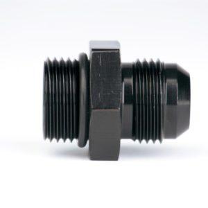 AEROMOTIVE AEI-15607 Фитинг Прямой -8 AN O-Ring, Черный