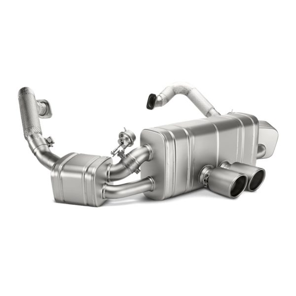 AKRAPOVIC S-PO981SO-HT/1 Выхлоп Slip-On для Porsche 981 Cayman, Cayman S, Cayman GTS