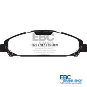 EBC Yellowstuff Brake Pads DP43039R